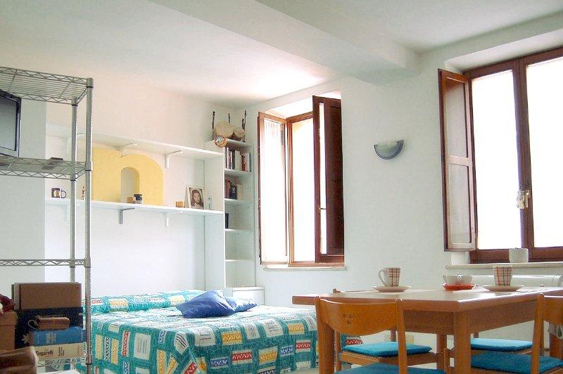 Luminoso e silenzioso monolocale in centro, holiday rental in Villa Lempa