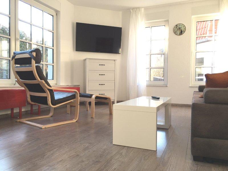 Frisch möblierte Wohnung im Eichsfeld, holiday rental in Teistungen