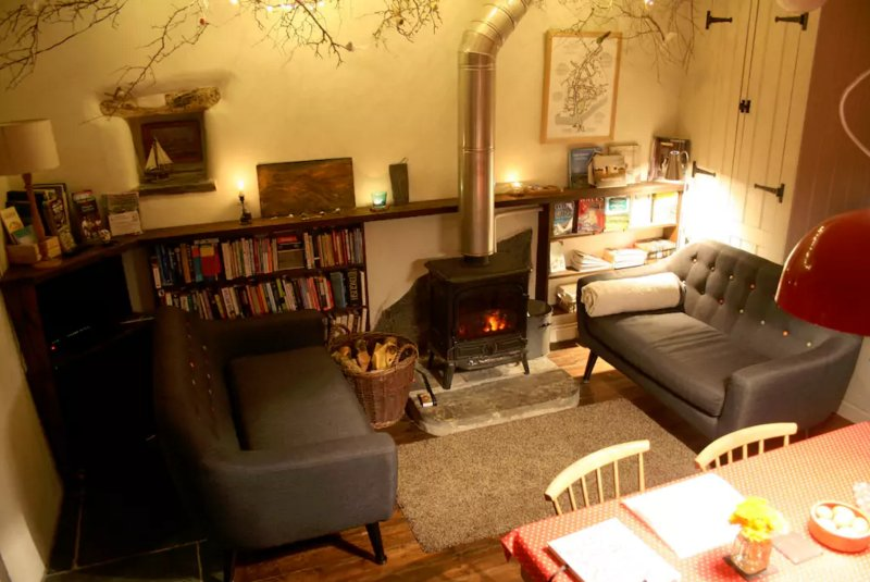 Cosy cottage woodburner