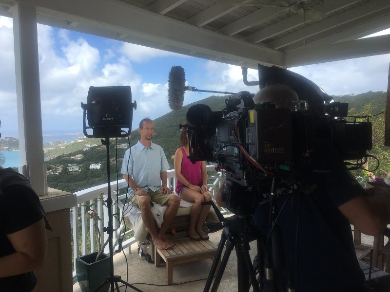 HGTV filming 'Caribbean Life' show at Little Palm!