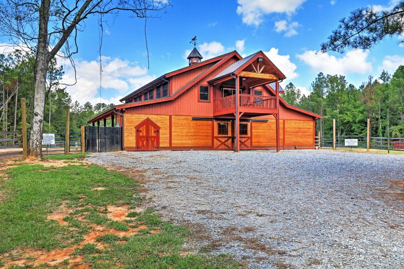 Make lasting memories at this awesome barn-style vacation rental home!