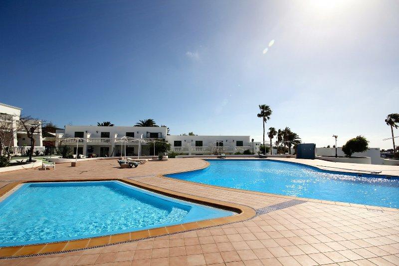 Apartment Las Salinas in Puerto del Carmen with sea view and