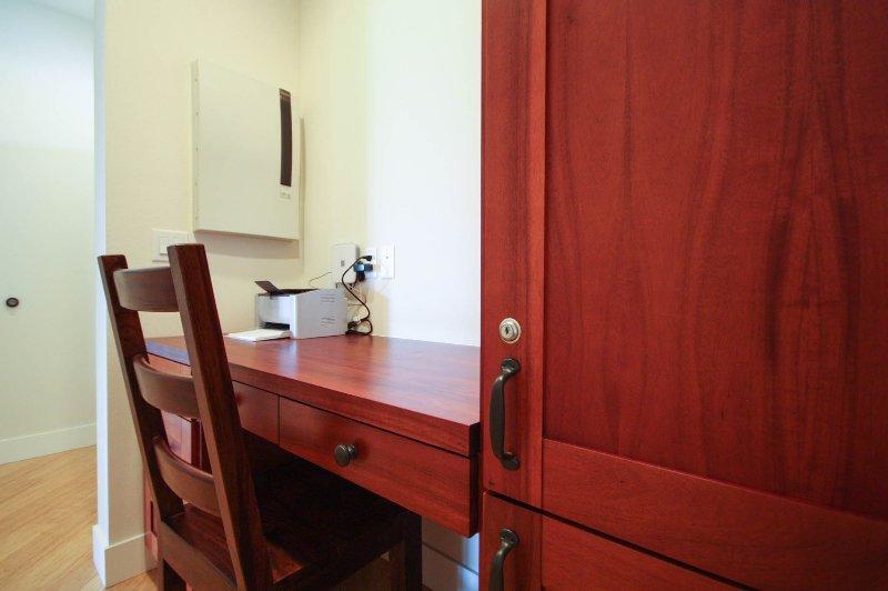 Desk outside of Second Master Bedroom