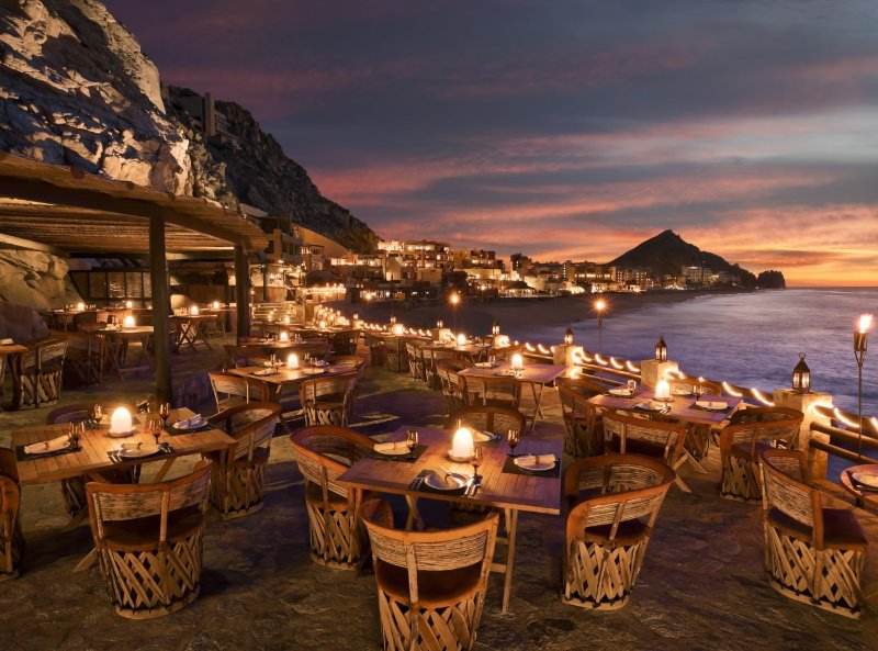 Cliff side fine dining