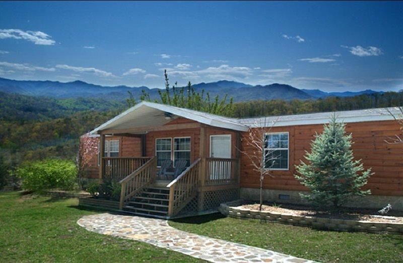 Abeto, construcción, cabaña, cabina, Refugio