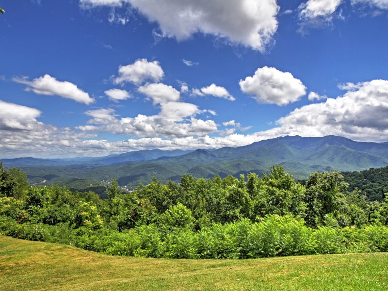 Breathtaking scenery surrounds the property!