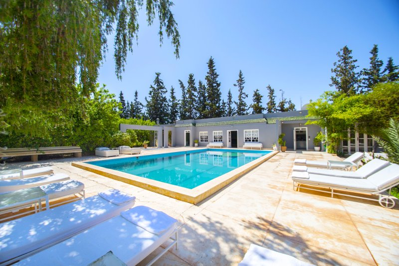 Perfect retreat with private pool and terraces