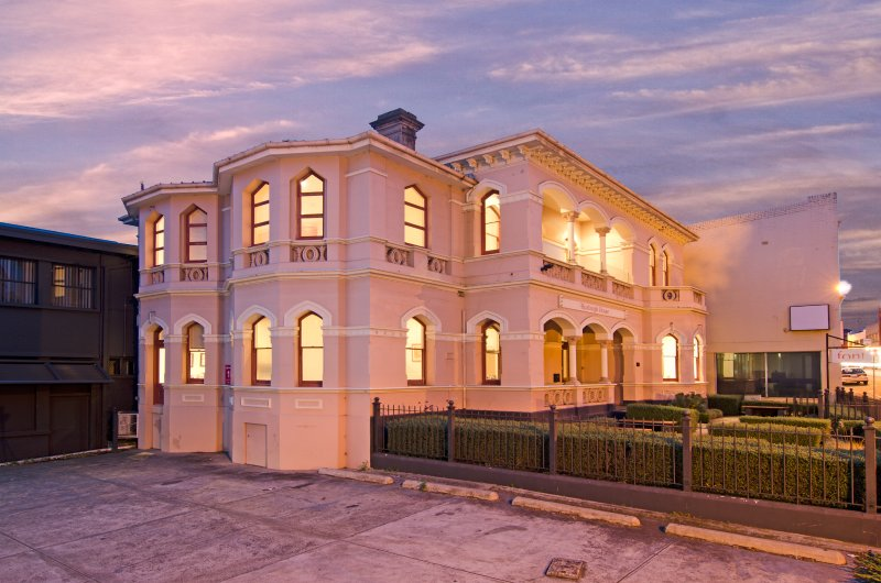 Heritage-llisted property in Hobart CBD