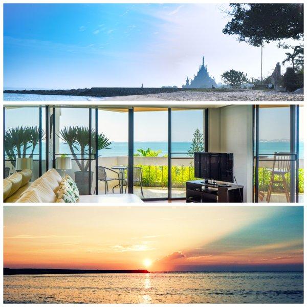 Panoramic Ocean View, 1 minute to the beach., casa vacanza a Tha Thaewawong