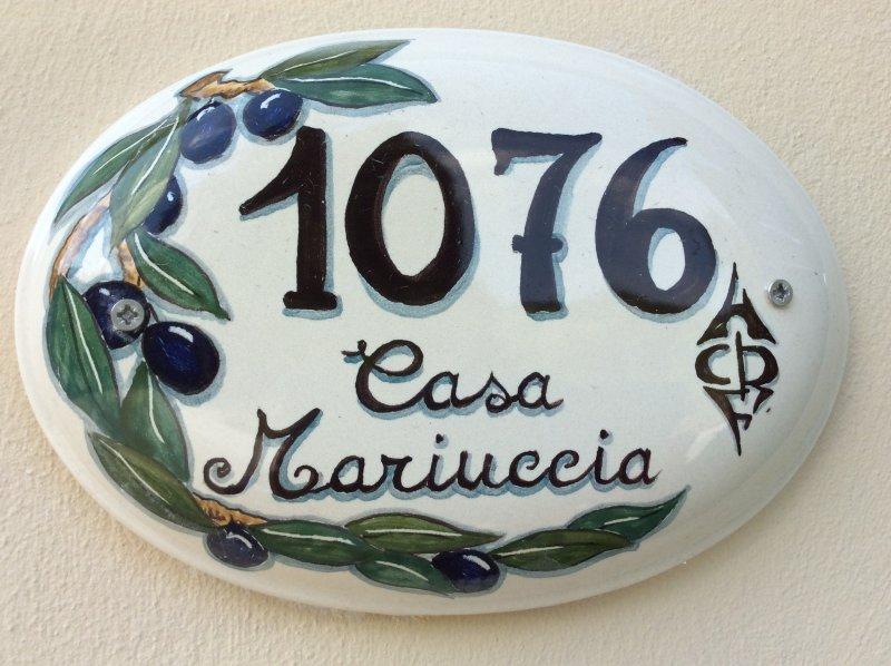 Casa Mariuccia, location de vacances à Ciciana