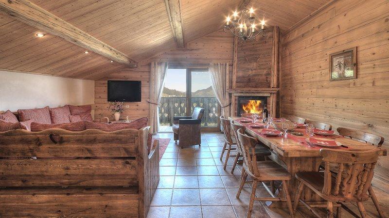 Appartement Antares avec Spa et Sauna, location de vacances à Courchevel