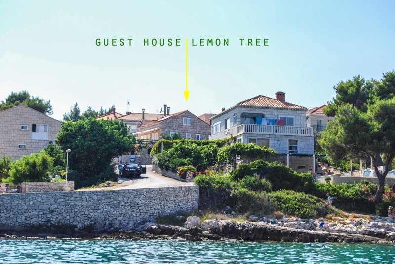 Family owned with a stunning sea view only 25 meters from the sea, free Wi-FI and free parking.