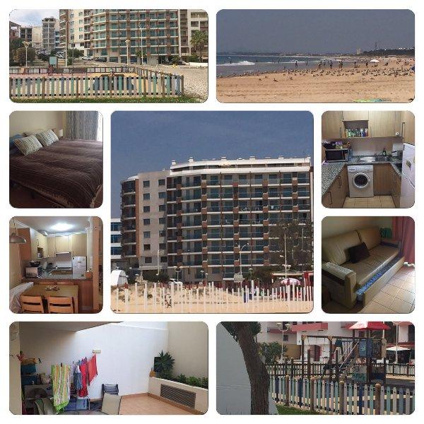 Alquiler Apartamento en primera linea de playa – semesterbostad i Monte Gordo