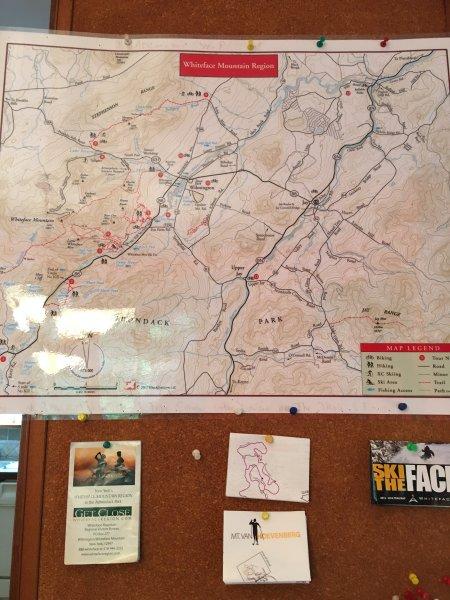 Planeje sua próxima caminhadas e ciclismo de aventura nas proximidades do Adirondack Estrela de Ridge