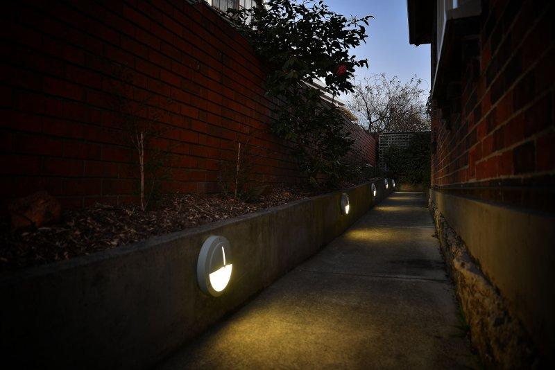 Lighted wheelchair access