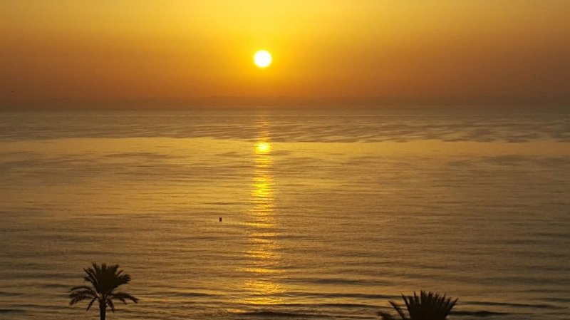Sunrise from the terrace