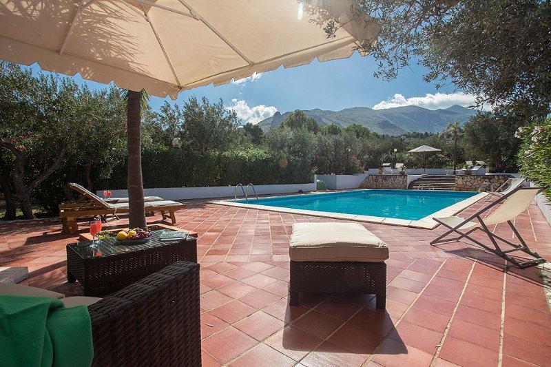 Villa Oleandri, Scopello, casa vacanza a Scopello