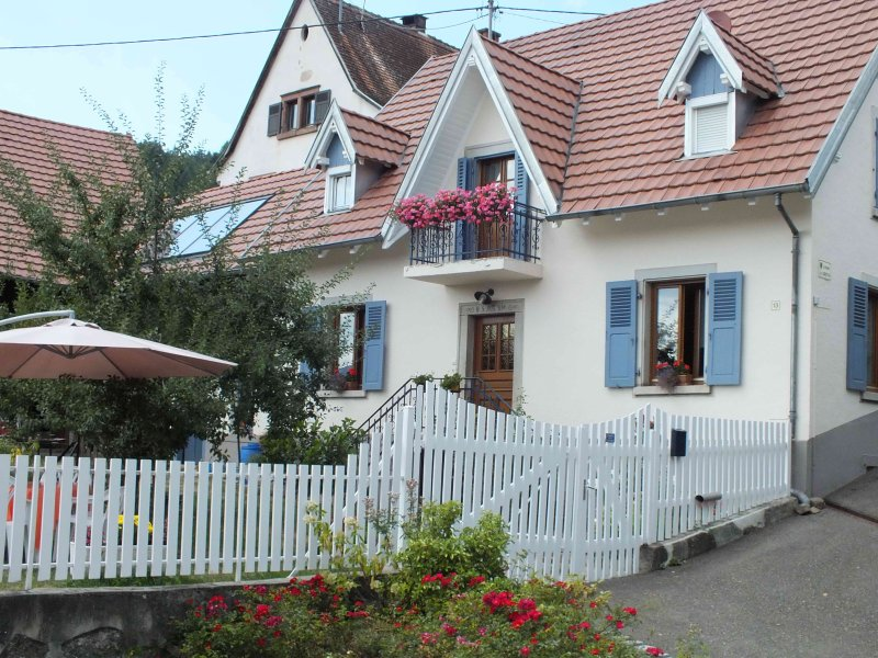Au Jardin Gourmand de la Vallée, vacation rental in Soultzeren