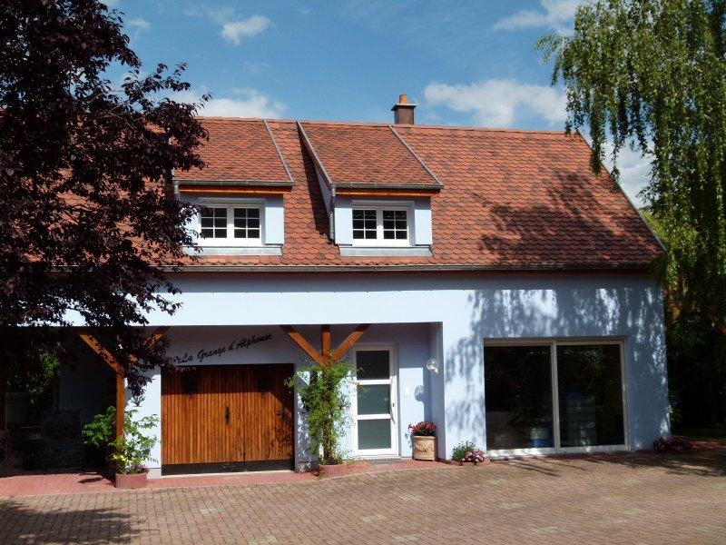 Location de vacances La grange d'Alphonse, holiday rental in Rorschwihr