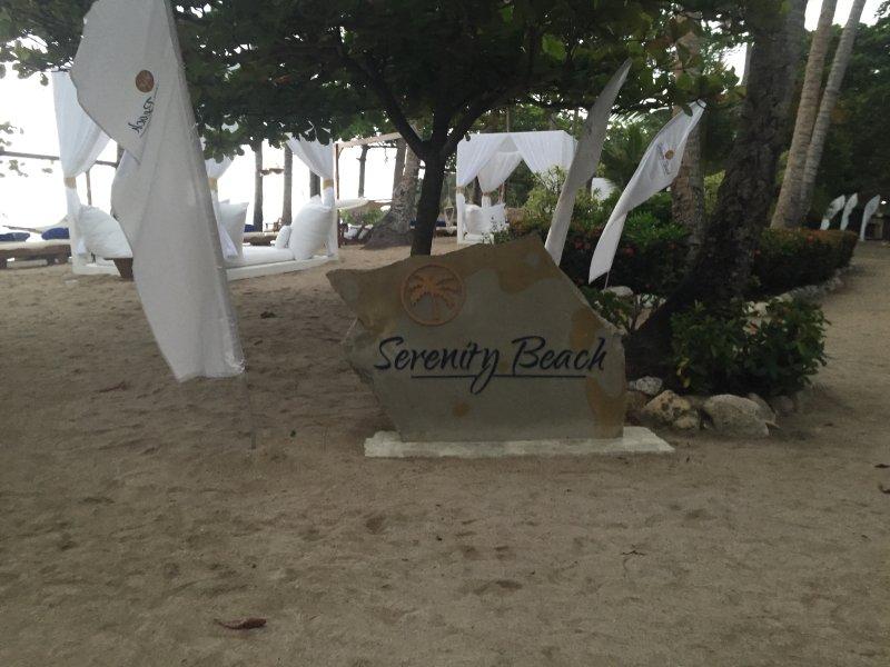 plage isolée VIP Zenful