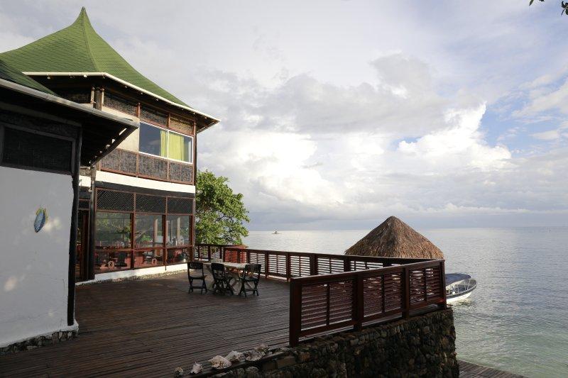 Casa blanca, Islas del Rosario, Ferienwohnung in Islas de Rosario