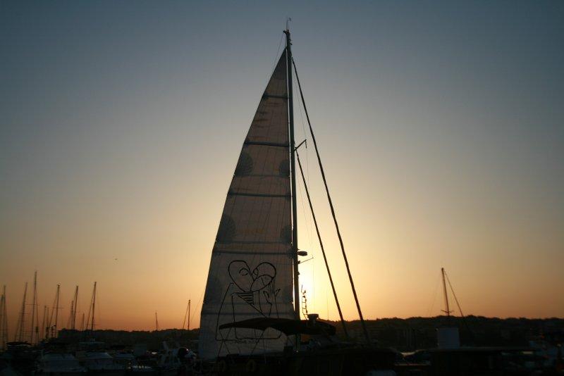 Sunset at Pangna Bay