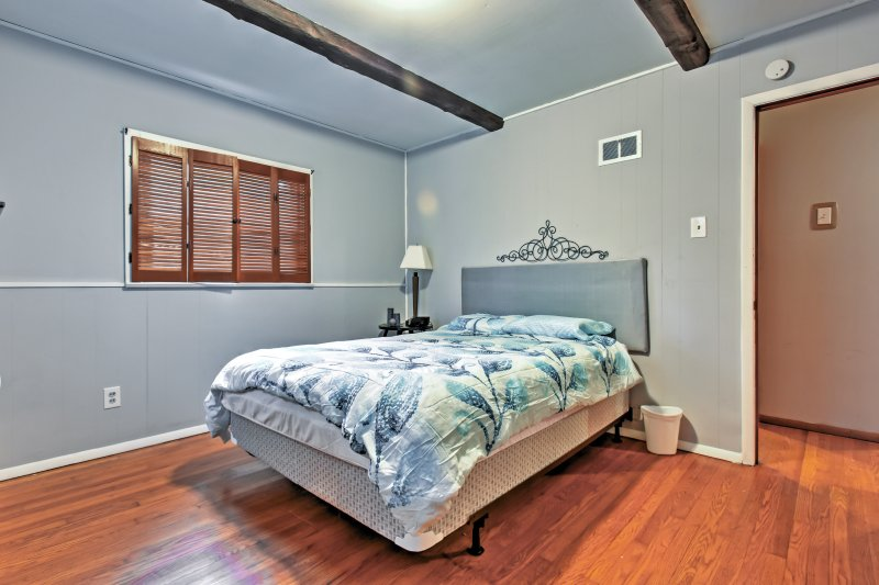 Catch up on some much-needed rest in the inviting master bedroom.