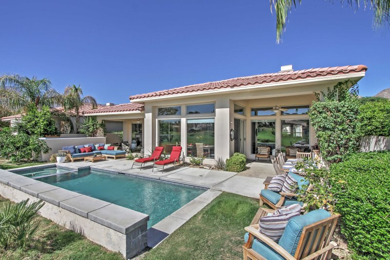 Welcome to your own personal paradise at this lavish La Quinta vacation rental house.