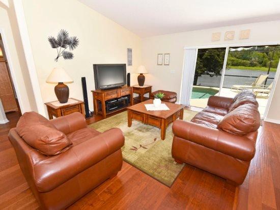 3125RL. Gorgeous Villa Sol 4 Bedroom 3 Bath Pool Home in Kissimmee, casa vacanza a Saint Cloud