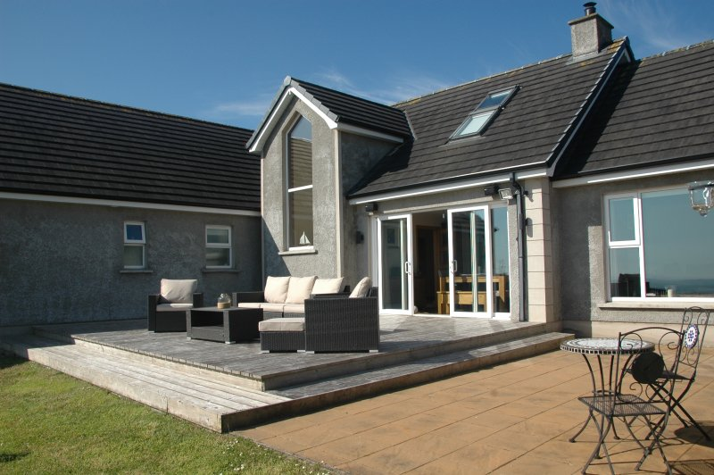 Decking Area with stunning Sea Views