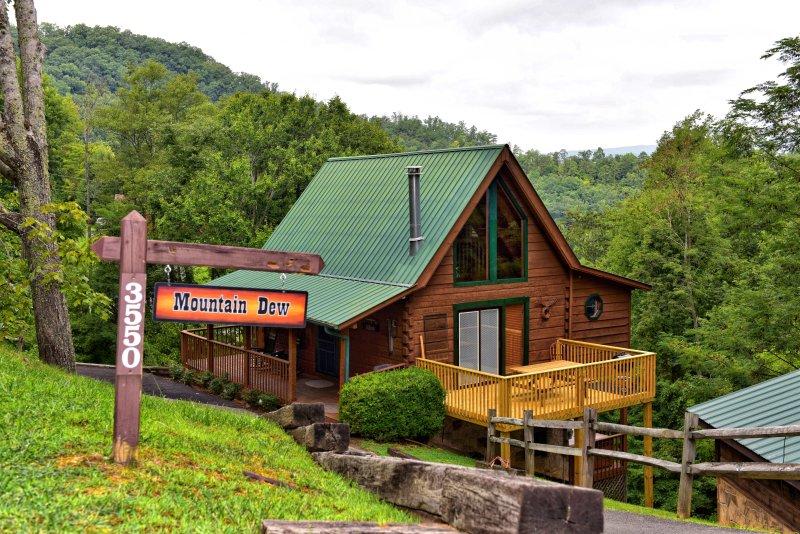 Mountain Dew Cabin Cozy Authentic Log Cabin Wifi Hot Tub Pet