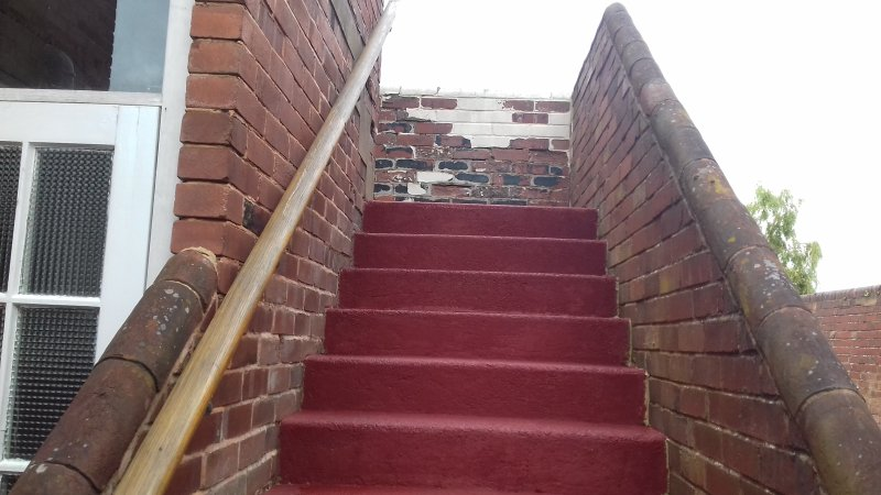 Stairs to your apartment