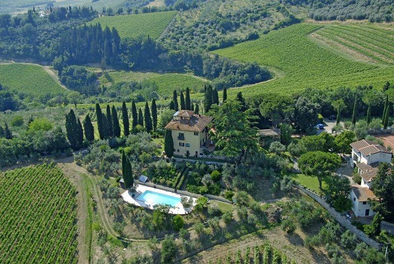 Landhuis in het hart van de Chianti