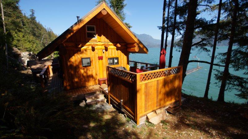Retour de la Treehouse avec maturateur espace privé de la baignoire.