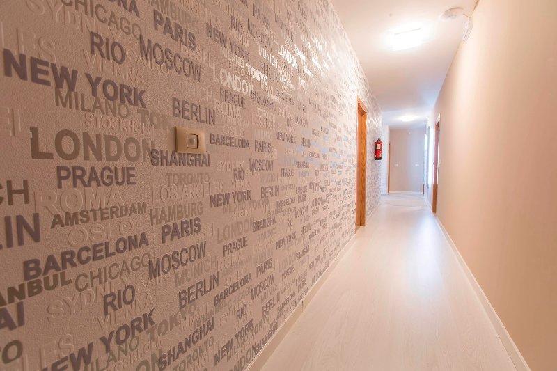Corridors.