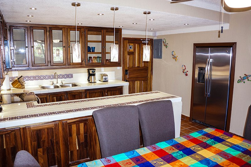 Kitchen - 2 and Condo Entrance