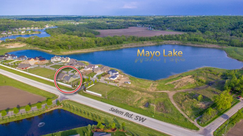Bike or jog around private Mayo Lake.