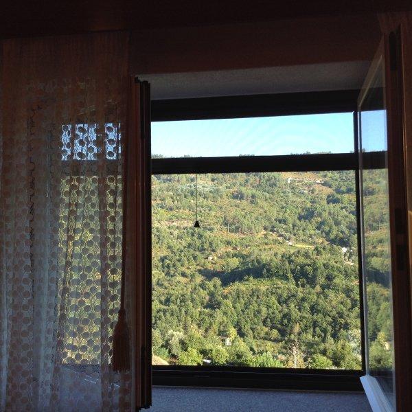Uitzicht vanuit de kamer