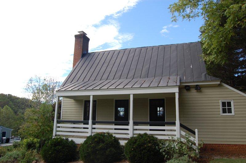 Ingresso al cottage di Temple Hill per una vera fuga
