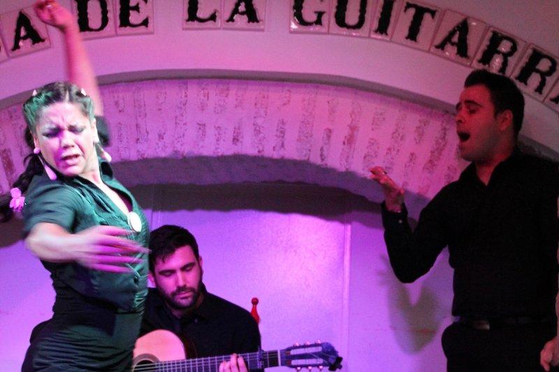 La passion du flamenco pour vous de l'expérience dans de petites salles intimes tout au long de Ronda, en Andalousie.