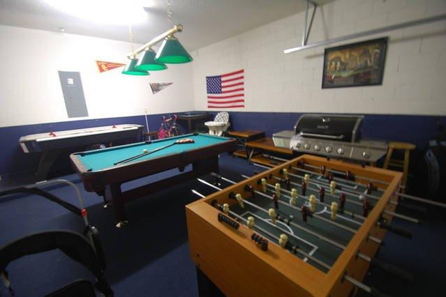Game room, 1st floor