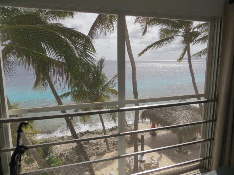 Ver en nuestra playa y al mar desde el apartamento