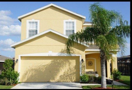 Florida Ridge Villa en lyxig 4 sovrum Pool Hem
