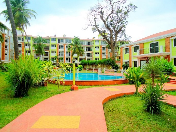 "Cosy Apartment with pool in Candolim- CM007 This Amazing  Property is located in Candolim at ""Devas"