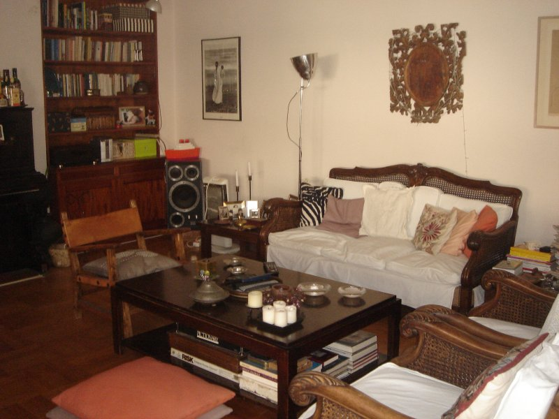 Una confortevole area salotto in grado di ospitare l'intero gruppo.