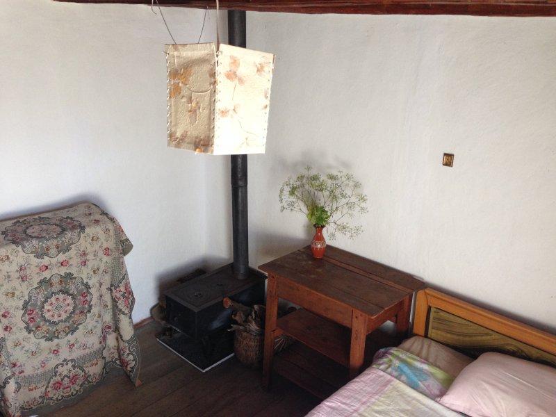 Deuxième chambre mis en place et prêt pour les clients.