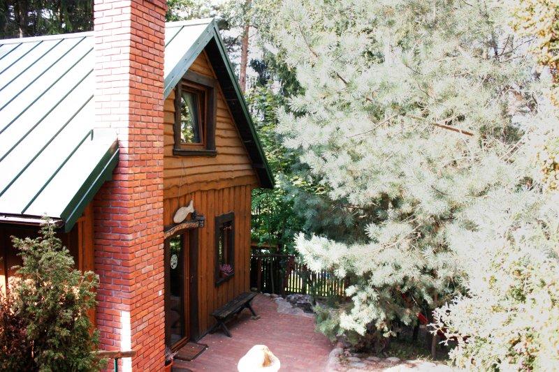 Domek Moczykija - House by the lake, vacation rental in Jeleniewo