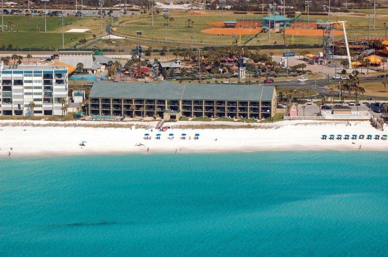 Aerial view of the Destin Beach Club!