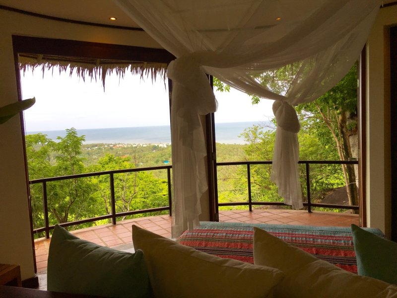 Sea view from master bedroom.