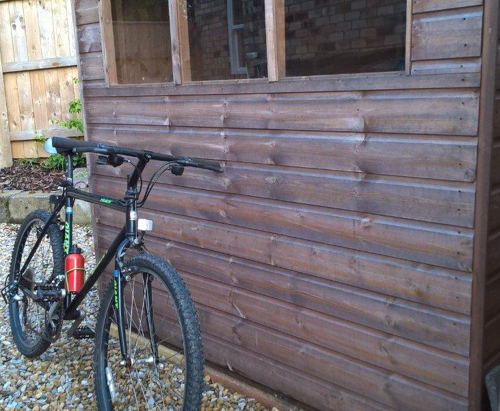 Sichere Aufbewahrung für Fahrräder